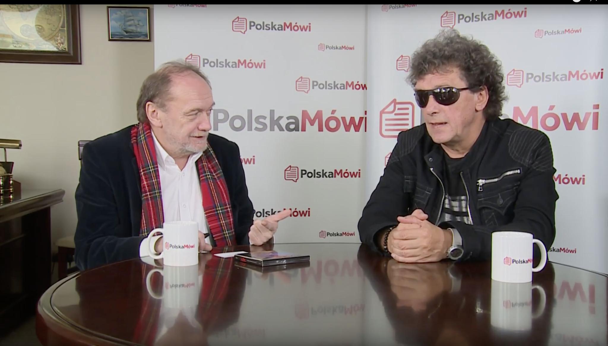 Wkurza mnie głupota, która nie ma ujścia, mówi Janusz Panasewicz dla Polska Mówi VIDEO