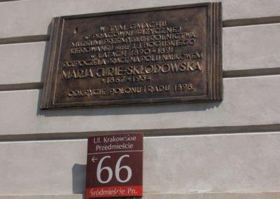 Krakowskie Przedmieście 66
