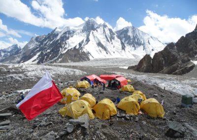 Polski obóz w bazie pod K2
