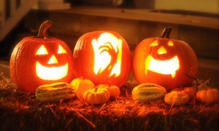 Halloween. Zwyczaj z dynią
