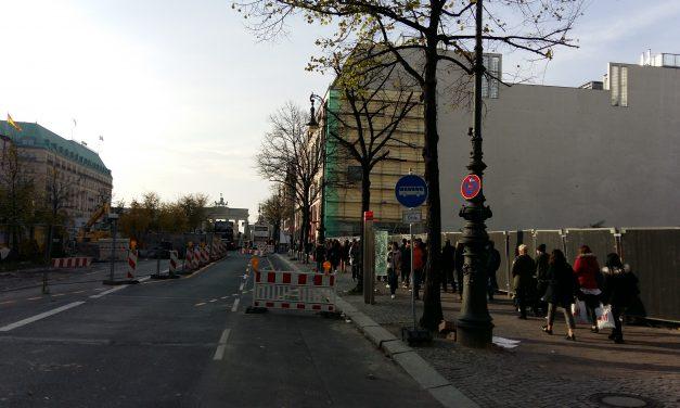 W centrum Berlina. VIDEO