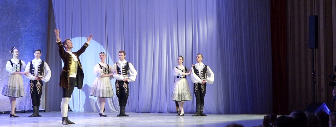 Balet ze Lwowa. VIDEO