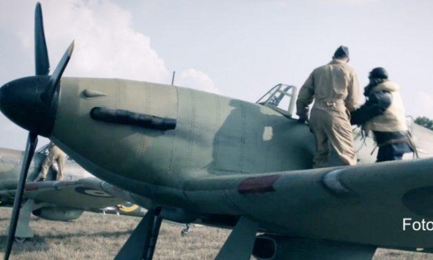 Dywizjon 303 – zobacz jak aktorskie gwiazdy grają w tym filmie./Squadron 303. VIDEO