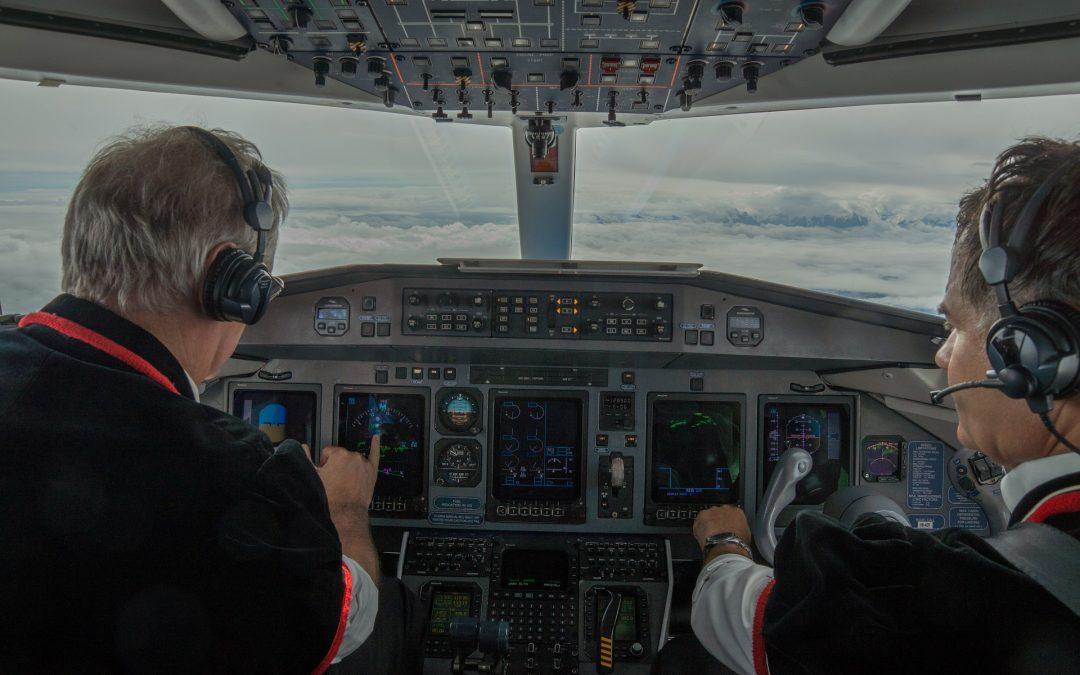 Stres w kokpicie samolotu. VIDEO