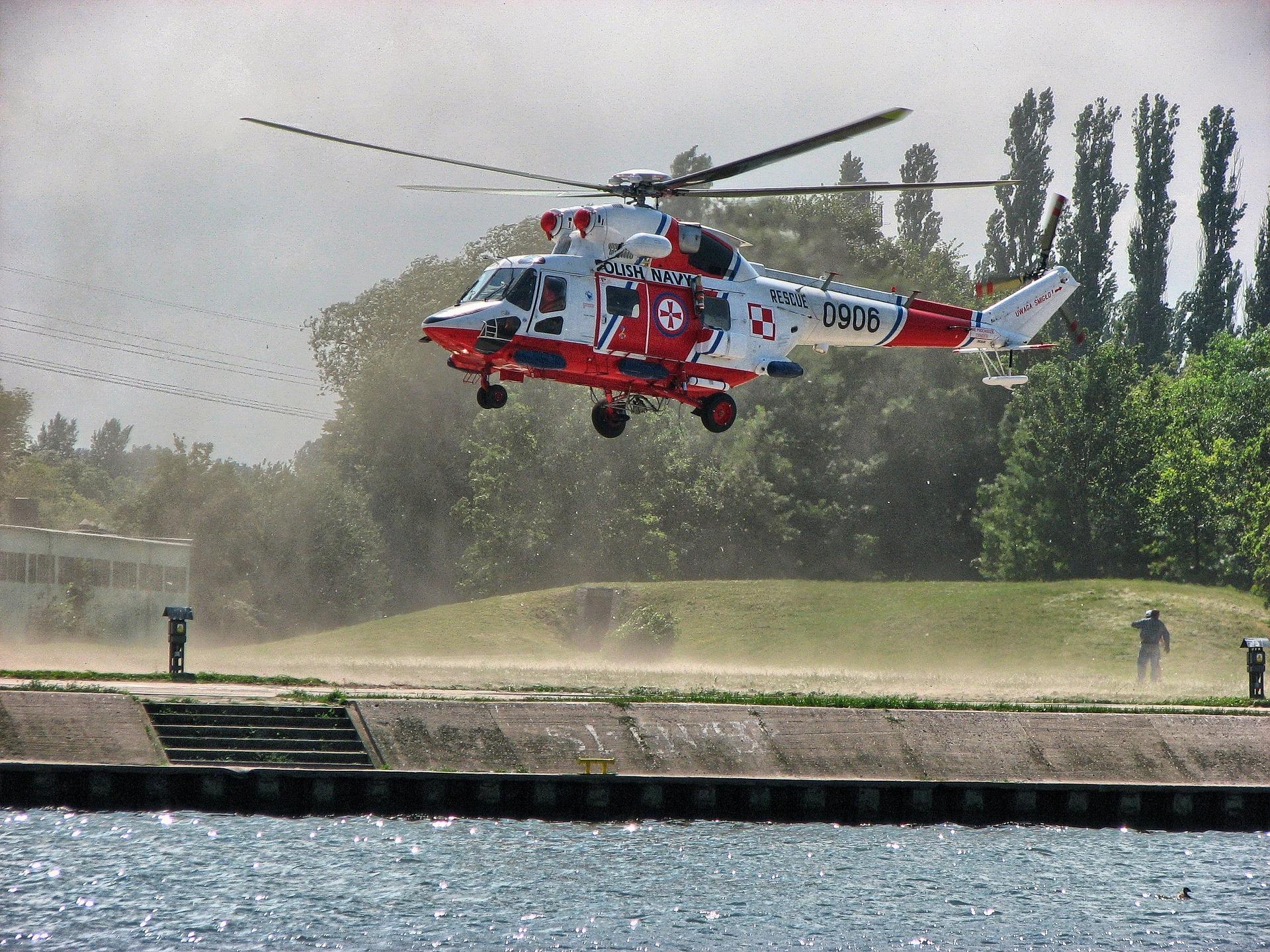 Jak się ratuje ludzi na morzu – SAR kpt. Marcin Abłażewicz