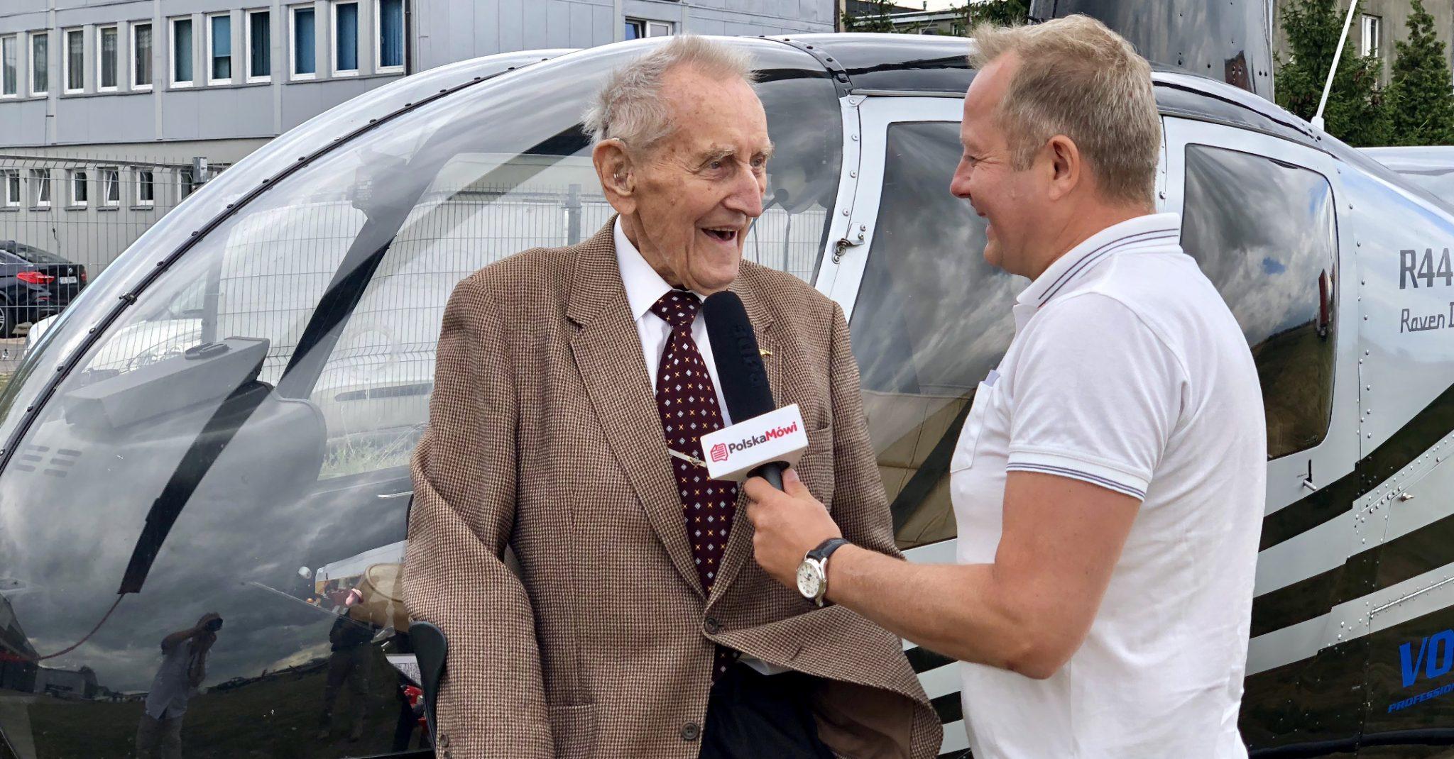Niezapomniany lot nad Warszawą Seniora Polskiego Lotnictwa Ryszarda Witkowskiego
