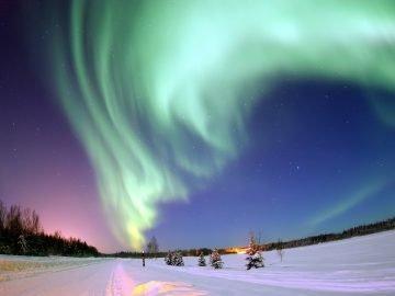 Polowanie na zorze polarne – Karol Wójcicki